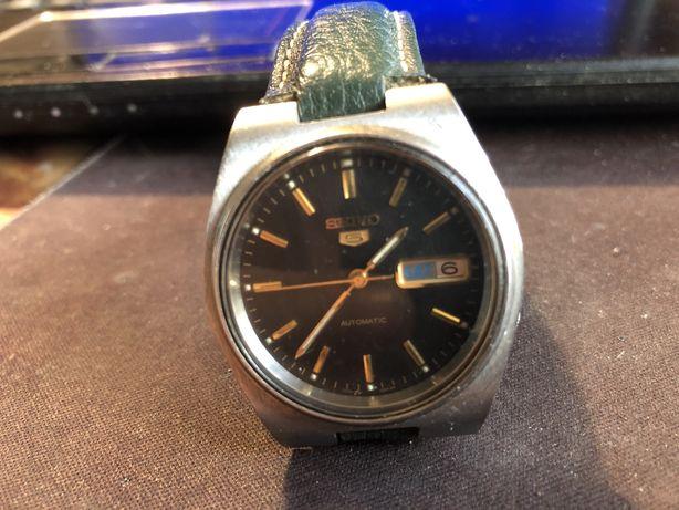 Zegarek męski seiko pięć automat lata osiemdziesiąte