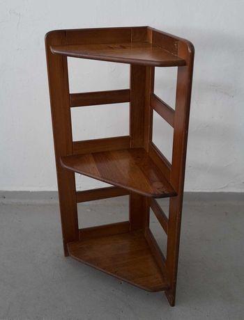Móvel de canto 90cm altura madeira Vintage