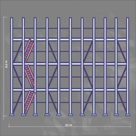 Rusztowania typ plettac 255m/2 LEASING