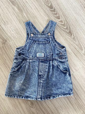 Sukienka jeans r.80