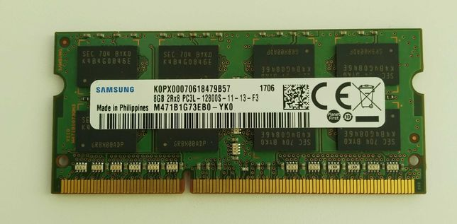 Память Samsung SODIMM 8Gb DDR3 (для ноутбука)