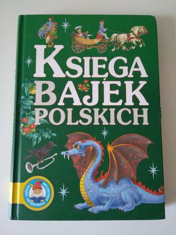 Księga bajek polskich Książki szczęśliwego dzieciństwa