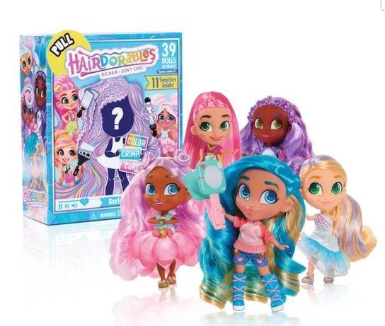Куколки Hairdorabl питомцы hairdorables lol na na na