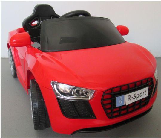 Audi RS R8 Autko Samochod AKUMULATOR Motor Elektryczny AUTO bmw Dzieci
