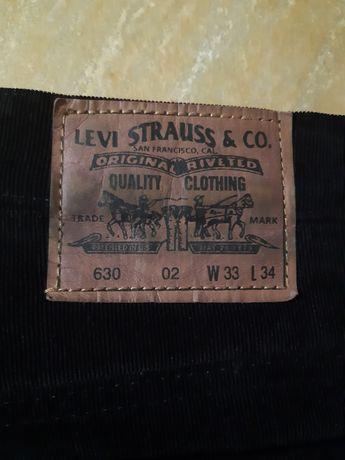 Штани вільвет Levi's jeans оригінал