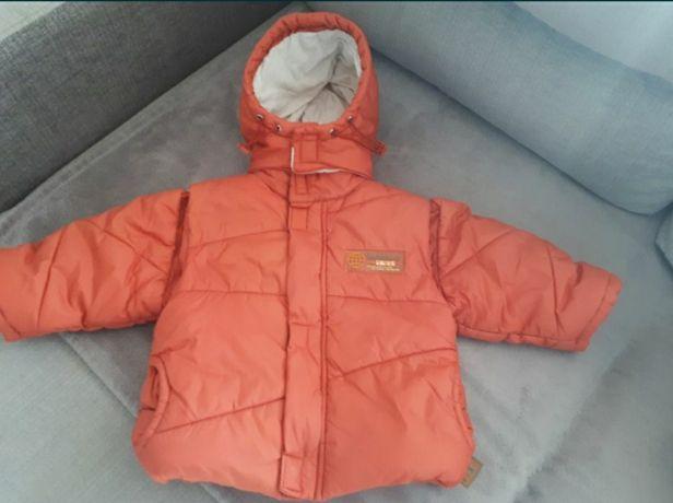 Sprzedam kurtkę na zimę/ bezrękawnik 2w1,