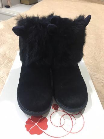Ботинки зимние для девочки, разм.36