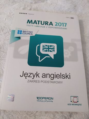 Matura 2017 testy i arkusze z odpowiedziami język angielski zakres pod