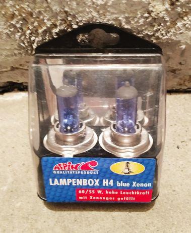 NOWE żarówki samochodowa H4 60/55W Blue Xenon komplet 2 szt.SZCZECIN