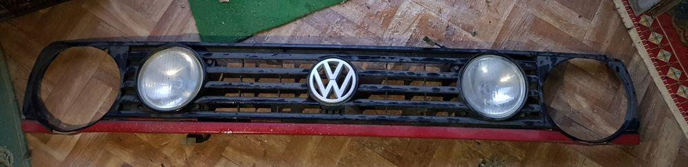Grelha VW Golf 2 com 2 faróis + 1 Alfandega da Fé - imagem 1