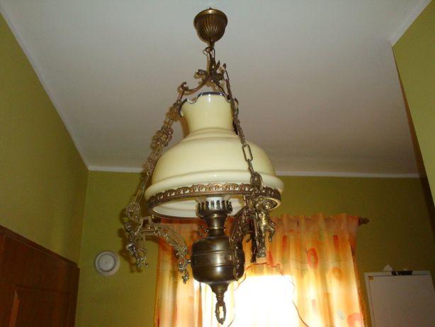Lampa mosiężna stylowa
