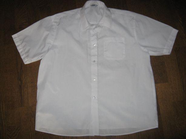 Хлопковая рубашка (тениска) на плотненького мальчика 11-12-ти лет