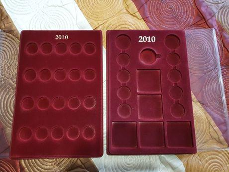 Palety na monety srebrne i 2zł NG (zestaw)