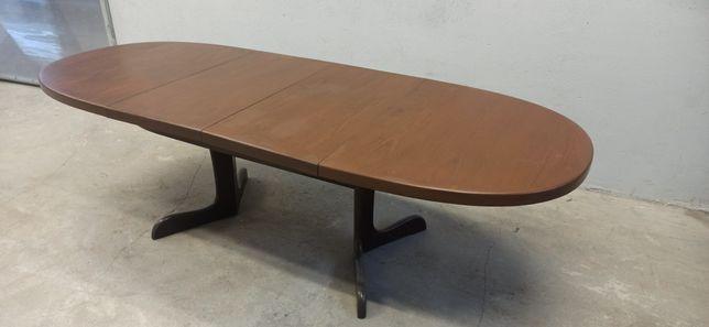Stół dębowy rozkładany Wektor. Ługów