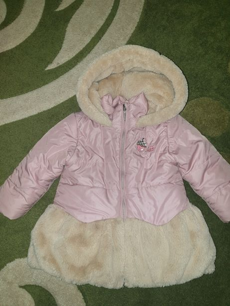 Зимняя куртка Woicik 92 см на девочку + подарок