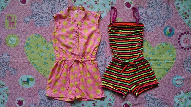 Яркий,летний комбинезон,ромпер для девочки 3-4 года