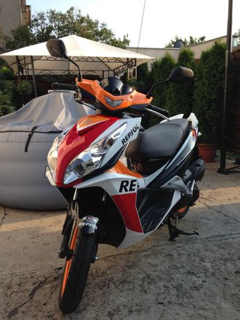 Honda NSC 50 R REPSOL 2014 wtrysk skuter super stan nowy model