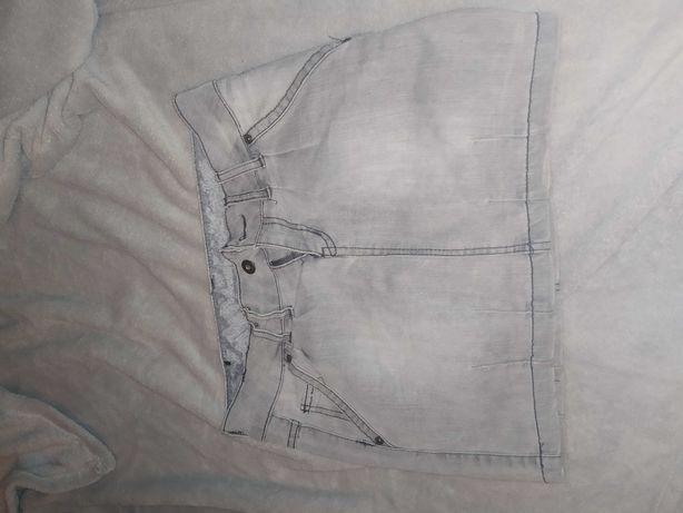 Spódnica szara