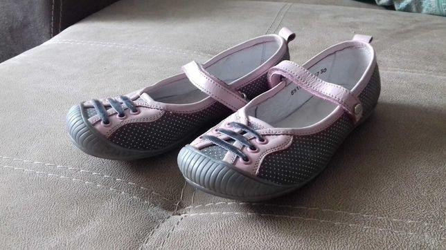 """Шкіряні туфлі для дівчинки """"Мальви"""" 30 розмір"""