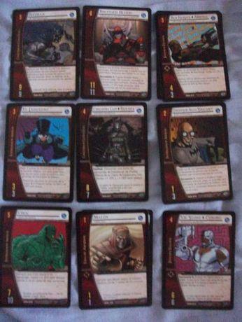 28 Cartas DC VS System e Marvel