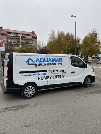 Usługi hydrauliczne pompy ciepła rekuperacja hydraulik