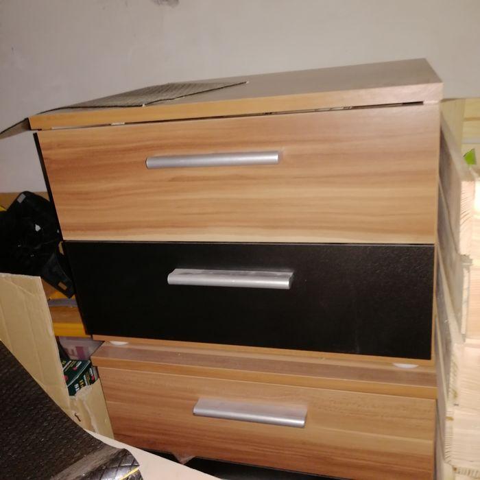 Półki nocne z szufladami Węgrów - image 1