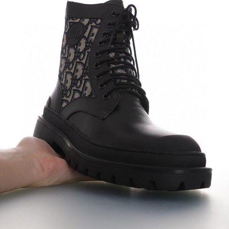 5 Ботинки осень∎ DIOR EXPLORER ANKLE BOOT ∎ кожа∎ супер качество∎ люк