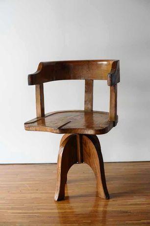 Cadeira antiga rotativa
