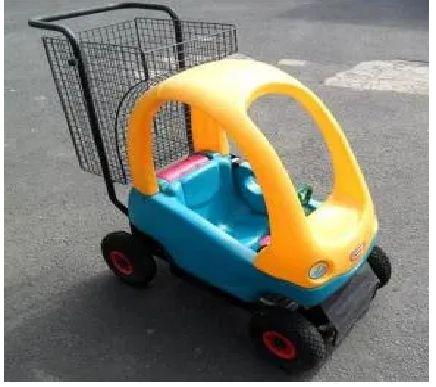 Wozek samochodzik dziecięcy sklepowy zakupowy