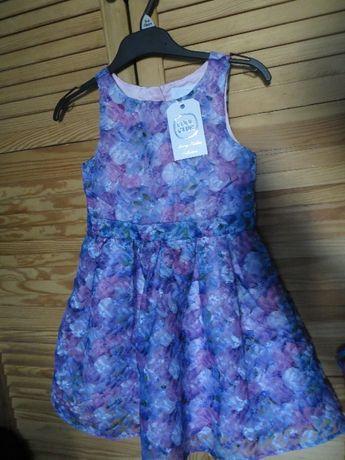 Nowa Śliczna sukieneczka Cool Club ze Smyka 110