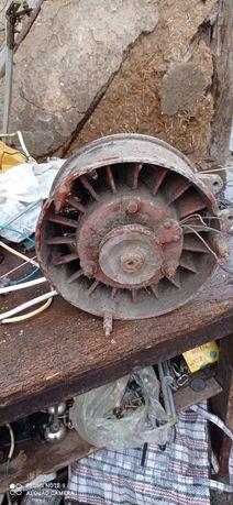 Вентилятор - турбина трактора, мотор д 21
