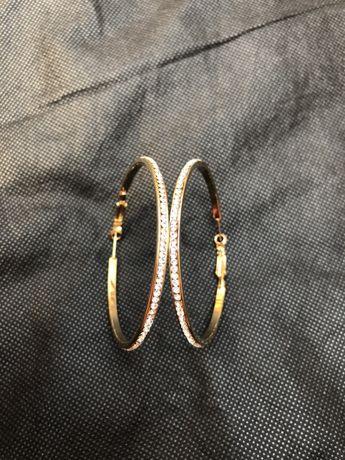 Продам новые серёжки серьги-кольца