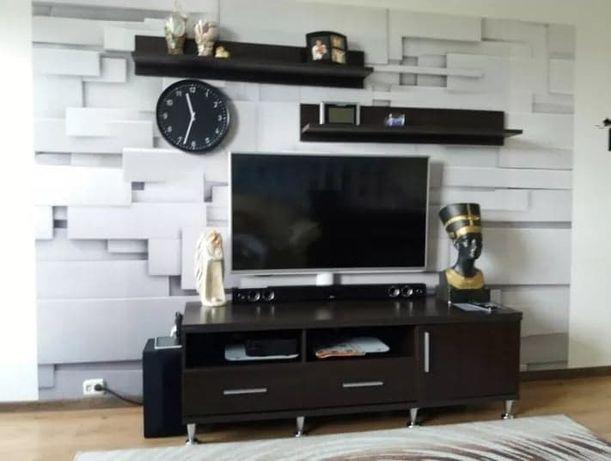 Zestaw szafka RTV i dwie półki