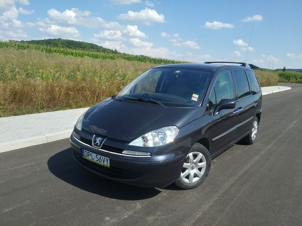 Peugeot 807 2.0 136 km 8 osobowy