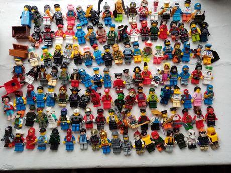 Лего фигурки мотоциклы лодки