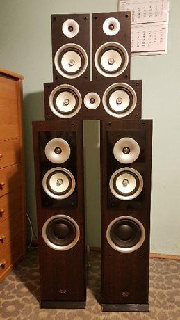 Zestaw kolumn głośnikowych (5 szt.) - Prism Emerald HT-300