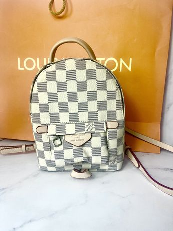 Louis Vuitton Lv backpack vanilla - skora saffiano