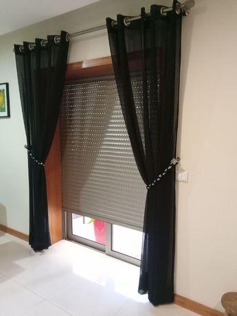 cortina mais varão