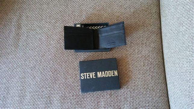portfel skórzany, nowy