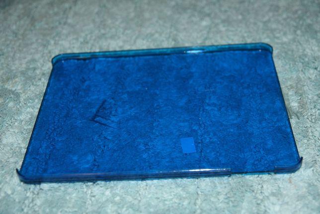 iPad 1 plecki twarde poliwęglan jasno-niebieskie przeżroczyste