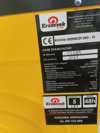 Kocioł grzewczy SKG 15 kW Krzaczek gearancja