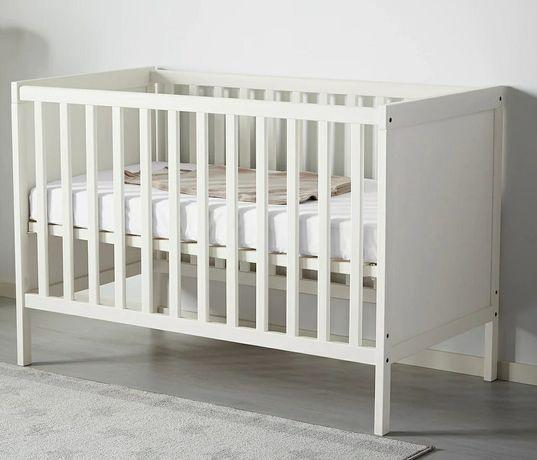 Łóżeczko IKEA Sundvik 120x60 jak nowe + GRATIS