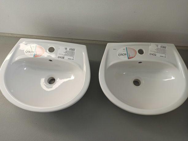 Nowa umywalka KOŁO 50 cm 2 szt.