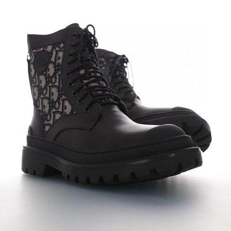 Ботинки осенние∎ DIOR EXPLORER ANKLE BOOT ∎ кожа ∎ ЛЮКС качество