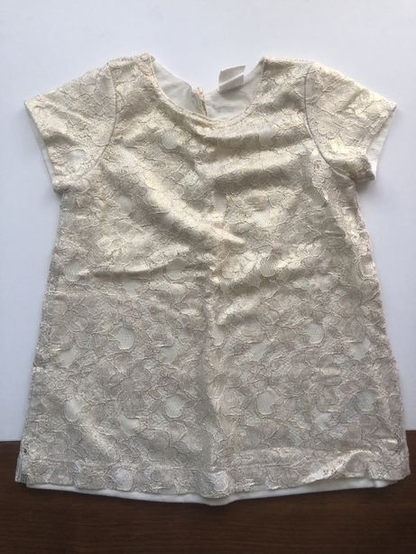 Złota sukienka H&M rozm 74