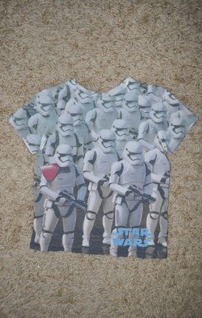 Крутая футболка star wars 8-9 лет
