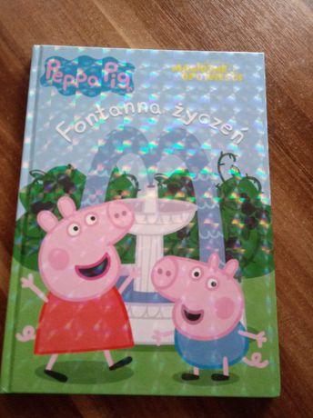 Świnka Peppa książeczka Fontanna życzeń Peppa Pig