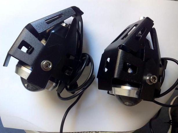 2 Faróis Led 125w mota novos