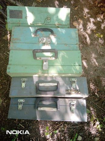 Продам раритетные ящики для инструмента