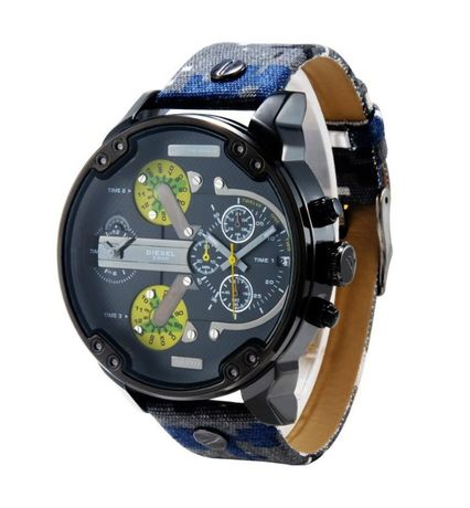 Nowy zegarek DIESEL DZ 7311 moro pasek